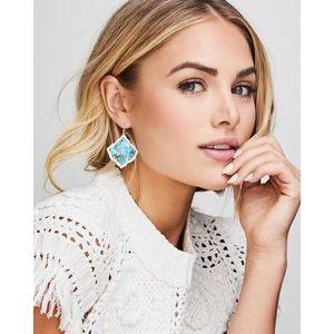 Kendra Scott | Kirsten Drop Earrings in Turquoise